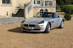 BMW Z8 Chateau de Vauloge, Le Mans, France (Rev426) Tags: world money france classic film car silver french real drive james cool pretty super racing special mans le penny bmw bond kit chateau rare enough 007 orbis z8 blat v354fmp vauloge altbondcar