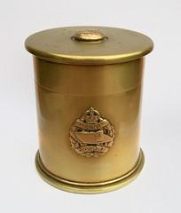 6 Pr. shell case pot Tank Corps (fumsup) Tags: world 6 art one 1 war tank wwi great first trench corps ww1 ww artisanat pounder poilu 19141918 tranchee i reservistika grabenkunst