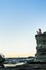 (danielle kiemel) Tags: ocean winter girls friends sunset sea people pets love beach dogs water animals female youth landscape outdoors freedom waves small young july happiness australia cliffs renee ralf nsw splash centralcoast goldenhour 50mmf14 2012 waterscape terrigal thehaven terrigalbeach daniellekiemel nikond5000 onbeingsmall