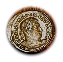 Constantine I the Great (Bahrfeldt) Tags: rome century germany coin ancient roman ad empire imperial third emperor germania treveri