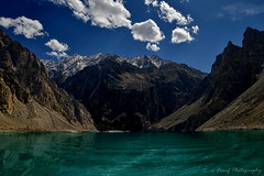 Attabad Lake, Gojal Valley Pakistan...[Explored- Oct 16] (fareeharauf) Tags: sky lake mountains water clouds nikon upper valley hunza karimabad gilgit d3200 gojal frauf attabad fareeharauf