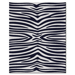 Zebra Wool Rug in Ink and Natural (PURE Inspired Design) Tags: customfurniture organicfabric ecofriendlyfurniture woolrugs