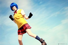 Out in the Open (tonicnebula) Tags: cosplay animecentral ikkitousen ryomoushimei hakufusonsaku acenphotoshoot