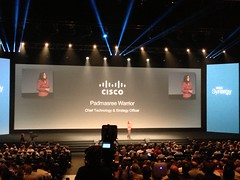 Padmasree has #Spagility for lunch :-) #CitrixSynergy