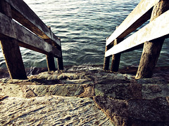Stairway To The Sea (Litrato Series) Tags: sea canon stairway kofc a1200