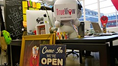 TrueView Desk (mattverity) Tags: london love apple technology dating startup app iphone matchcom startups onlinedating eharmony wayra trueview mattverity datingapp wayrauk andrewibbotson damianmitchell trueviewltd
