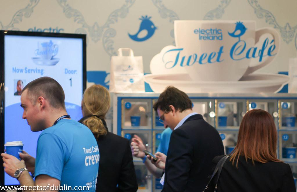 Tweet Cafe: Web Summit 2012 In Dublin (Ireland)