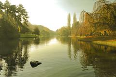 El silencio del otoño (Inmacor) Tags: park parque autumn trees lake france fall reflections relax landscape lago arboles lac paisaje explore otoño estanque francia calma reflejos roubaix ltytr2 ltytr1 ltytr3 ltytr4 inmacor