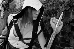 Assassin's Creed - 06 (Nate Buchman) Tags: costumes manchester cosplay connor nh videogames gaming stealth ac costuming assassin creed aac genderbend ac3 assassinscreed