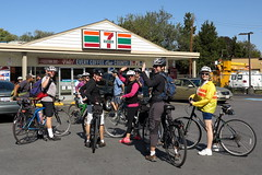 Cupcake Ramble Group Ride 7-11 Pitstop (Mr.TinDC) Tags: people bike bicycle bicycling cycling cyclists bikes bicycles biking 711 bikeride pitstop 7eleven conveniencestore bikerides bicyclists grouprides conveniencestores cupcakeride cupcakeramble bicyclespacecupcakeride