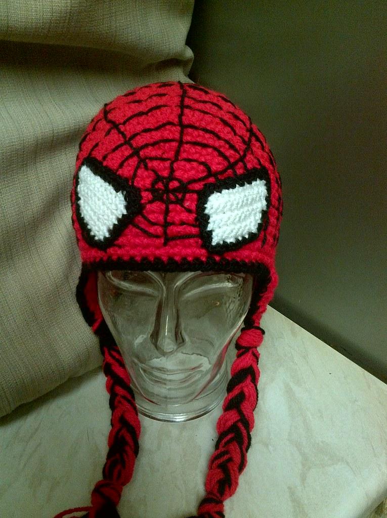 Enchanting Free Crochet Pattern For Spiderman Hat Sketch Blanket