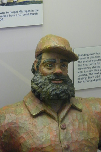 Paul Bunyan Trophy at the Margaret Dow Towsley Sports Museum (University of Michigan, Ann Arbor)