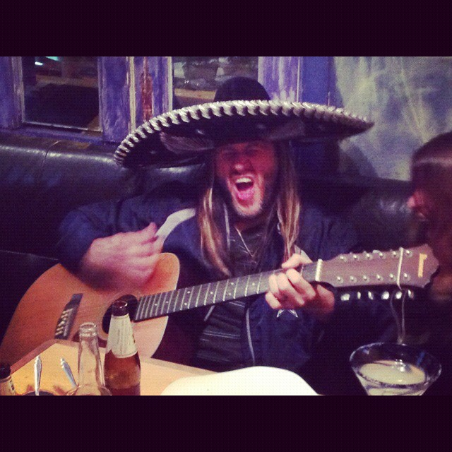 Troy rocking out in Peru! Want to see more photos from the road? We're now on Instragram: @evanescenceofficial