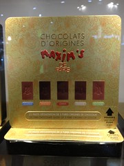 Maxim's Chocolats (tedesco57 -back from cruising Adriatic and Greece) Tags: paris france maxims sial chocolats