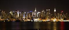 Bright Lights Big City (That Cool Photogapher) Tags: city nyc newyorkcity newyork night buildings lights bright manhattan midtown timesquare brightlights metropolis empirestatebuilding chryslerbuilding bigcity