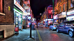 Brick Lane on a Friday Night (Anatoleya) Tags: street city 3 london night canon prime evening long exposure mark f14 iii le shoreditch 5d 24mm bricklane hdr f14l 5d3 anatoleya