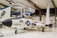 National Naval Aviation Museum (SebastienToulouse) Tags: voyage blue usa one f14 aviation navy musee angels travail seb f18 a4 naval blueangels crusader pensacola avion tomcat floride collegues