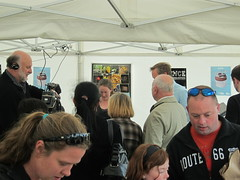 "It got pretty busy in our tent at times! • <a style=""font-size:0.8em;"" href=""http://www.flickr.com/photos/41323868@N03/8133962010/"" target=""_blank"">View on Flickr</a>"