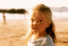 CUTE GIRL ON BEACH (Jane Legate) Tags: golden soft glow expression thoughtful backlighting younggirl shallowdepthoffield girlonbeach janelegate