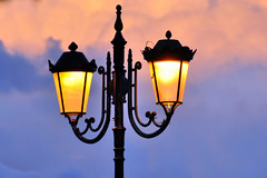 Street Lamps (RobW_) Tags: street clouds 510fav october greece lamps monday wal zakynthos 2012 diaryphoto oct2012 mdpd2012 bestof2012 mdpd201210 29oct2012