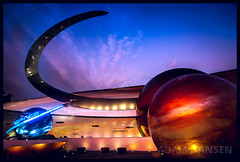 International Space Training Center - Epcot (Explored) (Adam Hansen) Tags: sunset photography orlando epcot missionspace nikon florida disney adobe wdw waltdisneyworld lightroom horizons futureworld d90 disneyvacation disneyphoto disneypicture disneyphotography