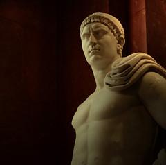 Imperator Marcus Otho Caesar Augustus (Yvan LEMEUR) Tags: sculpture paris rome art statue louvre marbre csar empereur antiquit othon galba nron empireromain agrippine