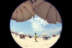 366 Project - 263/366 (c_imagine) Tags: blue sky sun hot sol praia beach azul mulher ceu calor