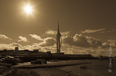 Portsmouth Harbour (1) (Chris Taylor Pictures) Tags: seascape spinnakertower portsmouthharbour