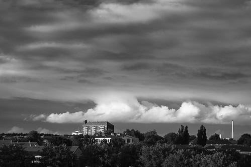 Storm over Lyngby - Denmark in Black  & White |  120923-2441-jikatu