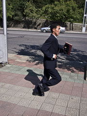 Pyongyang (mardruck) Tags: portrait people four lumix person republic hill north running olympus run korea panasonic peoples korean micro 17 20mm democratic northkorea thirds ep3 pyongyang dprk f17 m43 mansu 평양 조선민주주의인민공화국 olympusep3