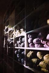 DSC_3708 (Simon Birky Hartmann) Tags: blur postprocessed grain indiana yarn giftshop textured goshen in d60 yarnshop simonh heavyediting goshenin nikkond60 studioaceofspade rverieyarn