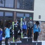 Van Houtte Slalom #1 at Mt. Norquay Jan 10/13 - Stephanie Gartner 1st