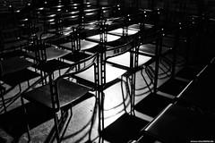 Cathedral of Trier - Interior Detail (Vlachbild) Tags: church germany blackwhite chair europe furniture structures christianity trier rhinelandpalatinate triererdom sonyslta65 carlzeisssal24f20zsony24mmf2distagon