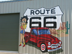 Betty Boop Mural on Route 66 (gtocruzr) Tags: california route66 mural needles bettyboop
