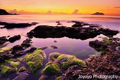 (joyoyo) Tags: seascape taiwan  seashore   blackcard   tokinaatx124afprodx1224mmf4  nikond90 joyoyo blackcardtechnique  tokinat124 bwnd106 bwnd64