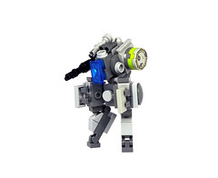 K1-Drone MPC (Mecharonn) Tags: light green gun lego lime mecha mech drone bley