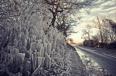 Iced trees - Surrey UK [Explored] (Nick Caro - Photography) Tags: road xmas uk winter cold tree ice frozen covered freeze caro icicle iced frosted bkc frozentree wwwnickcarophotographycouk 2nickcaro