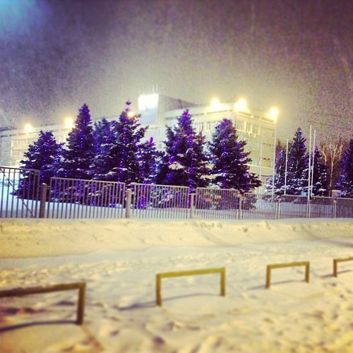 Ну и погодка!! ❄❄⛄ #winter #snow #2013
