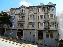 San Francisco, California - USA (Mic V.) Tags: california ca street usa building architecture america us san francisco place time united property powell states rue share edwardian