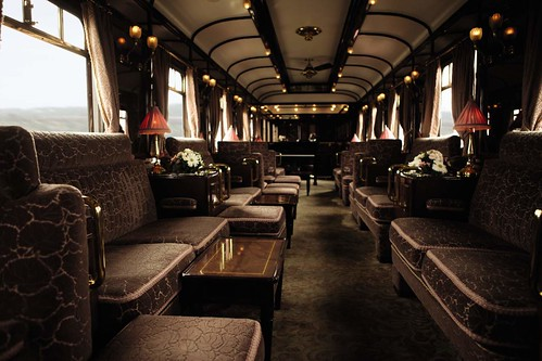 Venice-Simplon-Orient Express - bar car