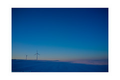 blue on the North (Emmanuel DEPARIS) Tags: snow de vent fuji wind neige pas region emmanuel calais nord x100 deparis boulonnais eoliene