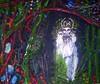 Inside Outside (hookykate) Tags: green love painting beard artwork poetry paintings goat tragedy woe greenman wildthing poetryandpicturesinternational