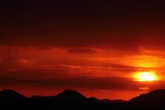 Sunset 6 29 16 011 (Az Skies Photography) Tags: sun set sunset dusk twilight nightfall cloud clouds sky skyline skyscape scottsdale arizona az scottsdaleaz arizonasky arizonaskyline arizonaskyscape arizonasunset red orange yellow gold golden salmon black june 29 2016 june292016 62916 6292016 canon eos rebel t2i canoneosrebelt2i eosrebelt2i