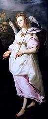 IMG_2999H Francisco de Zurbaran. 1598-1664. Sville Madrid. L'Ange Gabriel.  The Angel Gabriel. 1632.  Montpellier Muse Fabre. (jean louis mazieres) Tags: peintres peintures painting muse museum museo france montpellier musefabre franciscodezurbaran