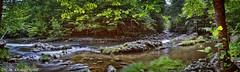 Gatlinburg River scene (Dr. M.) Tags: gsmnp gatlinburg river trees nature beauty water calm serene panorama hdr nikon d7000 tokina1116mm