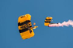 DSC_3176 (CEGPhotography) Tags: nikon cegphotography atlanticcity newjersey nj ac atlanticcityairshow 2016 thunderovertheboardwalk aviation flight sky usarmygoldenknights goldenknights parachutedemotemo parachute
