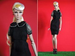 CELA Dress - on sale (Andymy) Tags: eden fashion royalty doll design integrity toys nuface lillith dress black