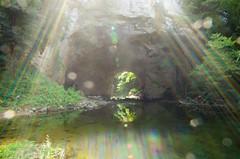 Great natural bridge (littlelionman97) Tags: slovenia slovenija rakov skocjan rakovskocjan greatnaturalbridge great natural bridge europe europa evropa nature rainbow raindrops water sun sunshine pentax k50 pentaxk50
