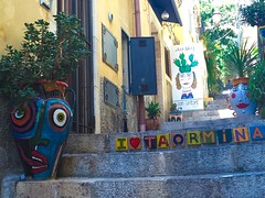 I tend to think of the act of photographing, generally speaking, as an adventure. My favorite thing is to go where Ive never been. Diane Arbus (elisa_mitzi) Tags: streetphotography street art taormina