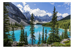 Moraine Lake, Banff National Park (PhotoDG) Tags: morainelake banffnationalpark banff lae colour landscape glacier glacierfed icefieldparkway polarizer wideangle rockymountains canadianrockies nationalpark